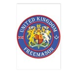 UK Masons Postcards (Package of 8)