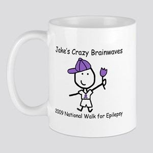 Jake's Crazy Brainwaves Mug