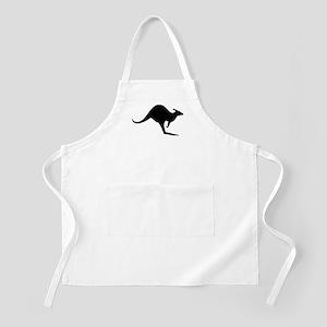 australian kangaroo black log BBQ Apron