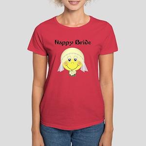 Happy Bride Women's Dark T-Shirt