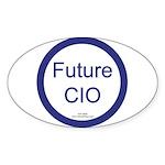 Future CIO Oval Sticker