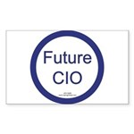 Future CIO Rectangle Sticker