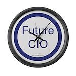 Future CIO Large Wall Clock