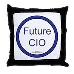 Future CIO Throw Pillow