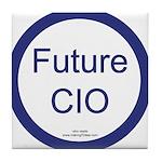Future CIO Tile Coaster