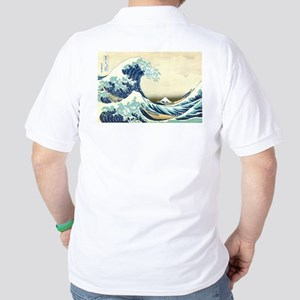 Great Wave off Kanagawa Golf Shirt
