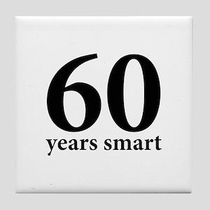 60 Years Smart Tile Coaster