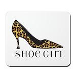shoe girl Mousepad