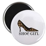 shoe girl Magnet