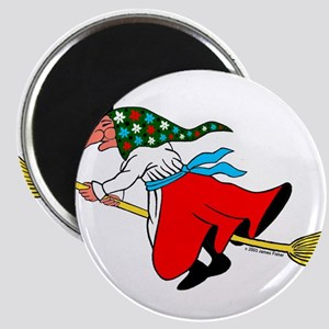 Norwegian Good Luck Kitchen Witch Magnets