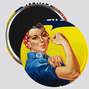 Vintage Rosie the Riveter Magnet
