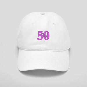 50th Birthday Diva Cap