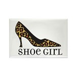 shoe girl Rectangle Magnet (10 pack)