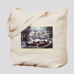 Central Park in Winter Tote Bag