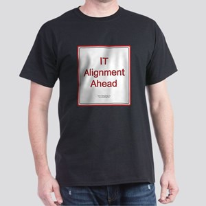 IT Alignment Ahead Dark T-Shirt