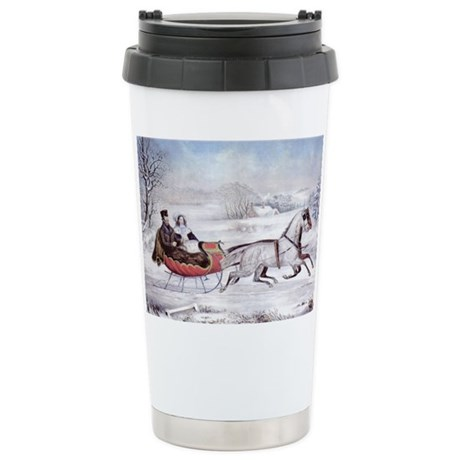 The Road Winter Stainless Steel Travel Mug