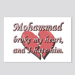 Mohammad broke my heart and I hate him Postcards (