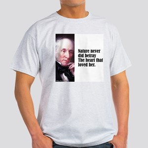 "Wordsworth ""Nature Never"" Light T-Shirt"