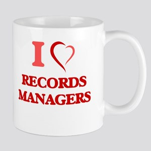 I love Records Managers Mugs