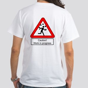 """Work in progress"" T shirt"
