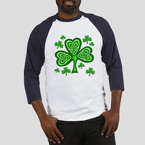 Celtic Shamrocks Baseball Jersey