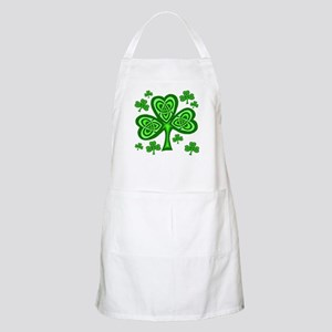 Celtic Shamrocks BBQ Apron