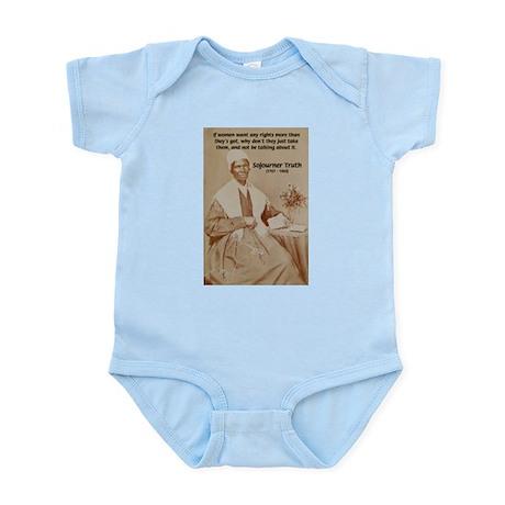 Feminist Sojourner Truth Infant Creeper