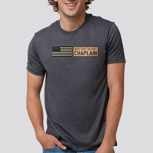 U.S. Air Force: Chaplain Mens Tri-blend T-Shirt
