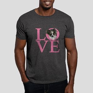 Long Hair Love Dark T-Shirt