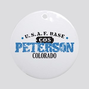 Peterson Air Force Base Ornament (Round)