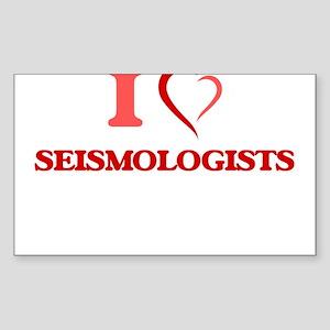 I love Seismologists Sticker