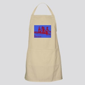 blue red rowers BBQ Apron
