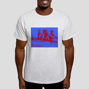 blue red rowers Light T-Shirt