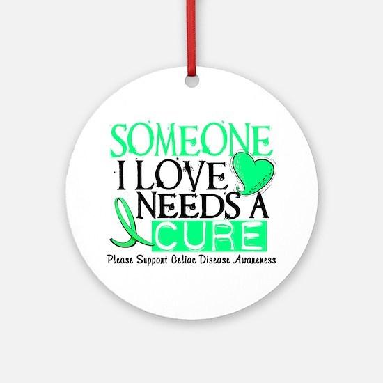 Needs A Cure CELIAC DISEASE Ornament (Round)
