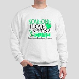 Needs A Cure CELIAC DISEASE Sweatshirt