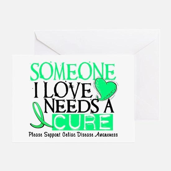 Needs A Cure CELIAC DISEASE Greeting Card