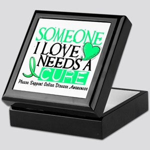 Needs A Cure CELIAC DISEASE Keepsake Box