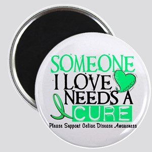 Needs A Cure CELIAC DISEASE Magnet
