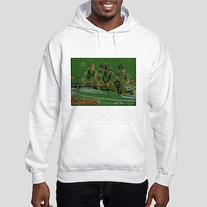 green rowers Hooded Sweatshirt