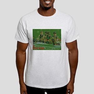 green rowers Light T-Shirt