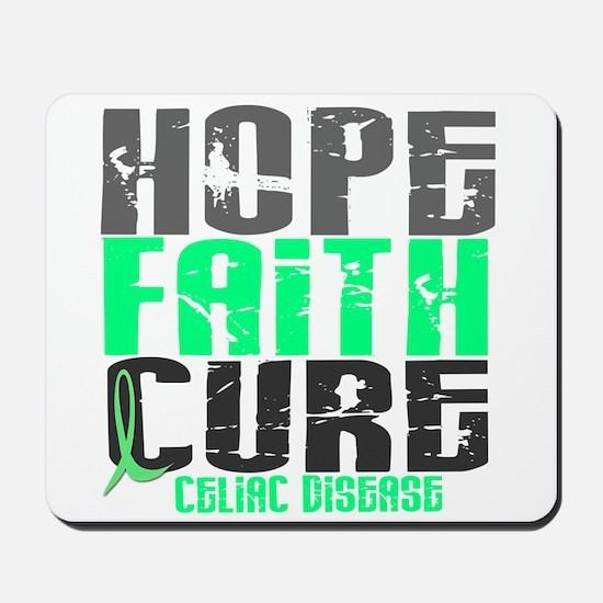 HOPE FAITH CURE Celiac Disease Mousepad