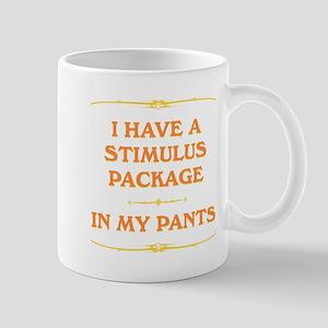 Stimulus Package in my pants Mug