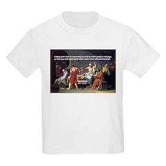 Socrates: Knowledge Books Wisdom Kids T-Shirt