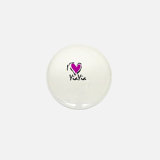 Cute Yiayia Mini Button