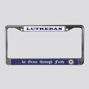 Lutheran License Plate Frame 1