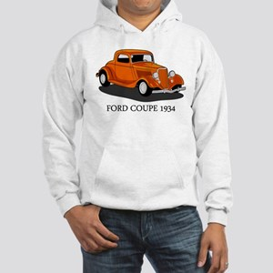 Ford Coupe 1934 Hooded Sweatshirt