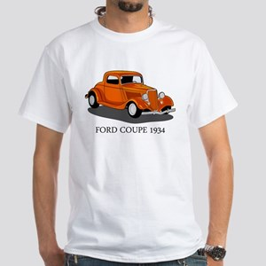 Ford Coupe 1934 White T-Shirt