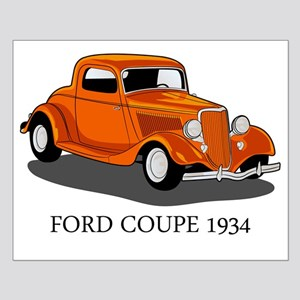 Ford Coupe 1934 Small Poster