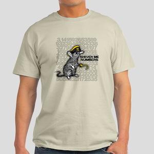 Pi Rat Shiver Me Numbers Mens T-Shirt