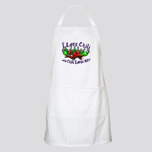 I Love Chili and More BBQ Apron